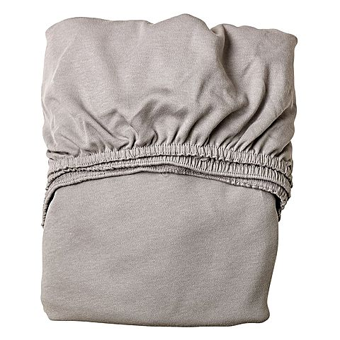 Leander Fitted Cot Sheets (Set of 2) - Grey
