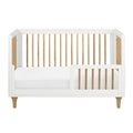 Babyletto Lolly 3-In-1 Cot - White & Natural