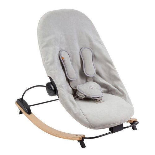 Bloom Coco Go Lounger - Natural & Frost Grey