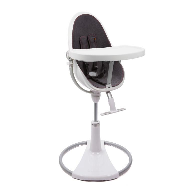Bloom Fresco Chrome Highchair - White Frame