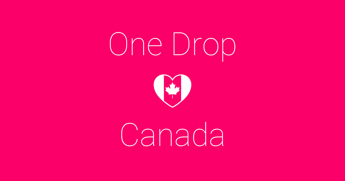 One Drop Announces Regulatory Approval And Launch In Canada