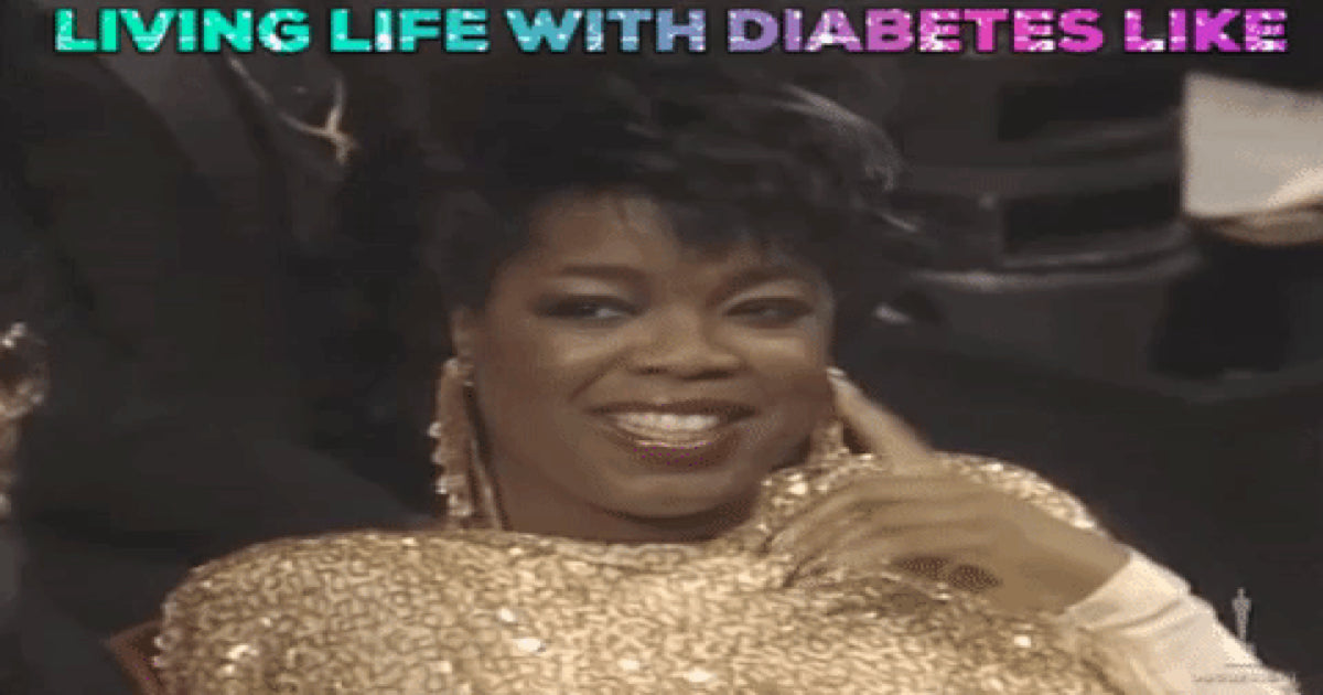 Everyday Diabetes Moments in Oprah GIFs