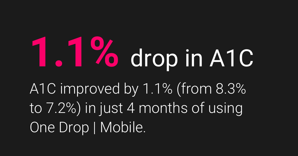 One Drop | Mobile & Lower A1C