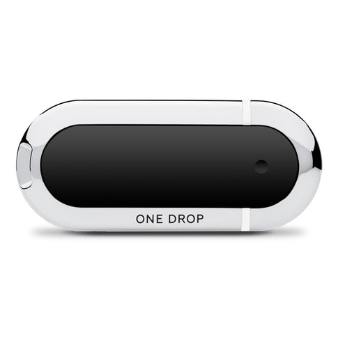 One Drop Glucometer with White Accent Color