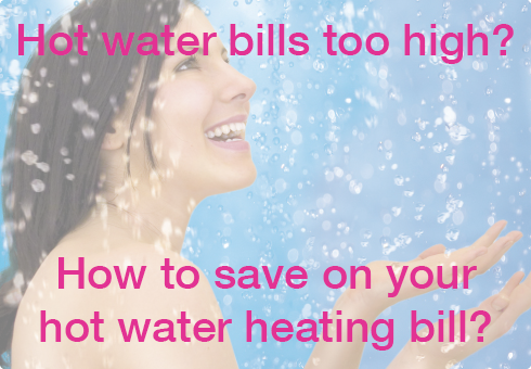 How to save on your household hot water heating bill?