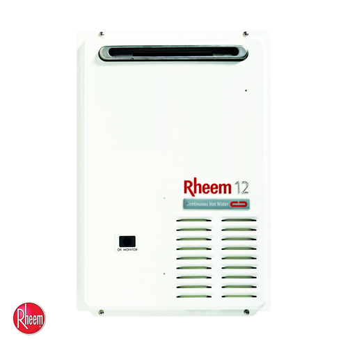 Rheem 874612NF 60 ̊C 12L Continuous Flow Gas Hot Water System