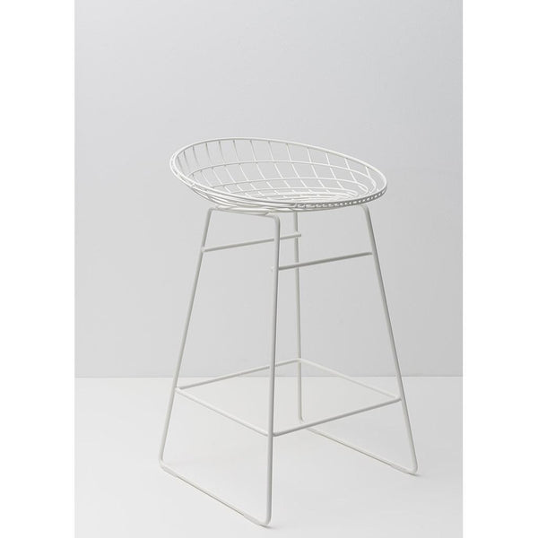 km06 wire stool (4528358129761)