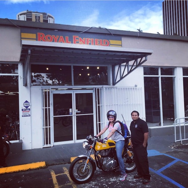 Testimonials Royal Enfield on Caribbean Motorcycles PR