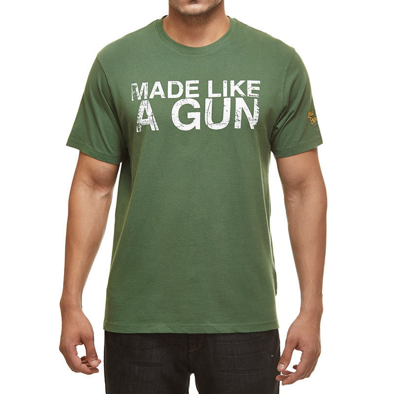 Made like a gun - Battle green