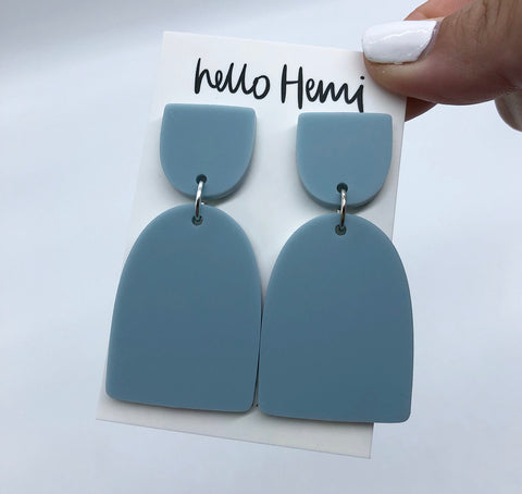 L a L a   - Matte Egg Shell Blue