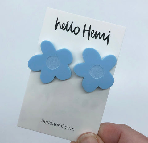 Full Bloom - Matte Pastel Blue