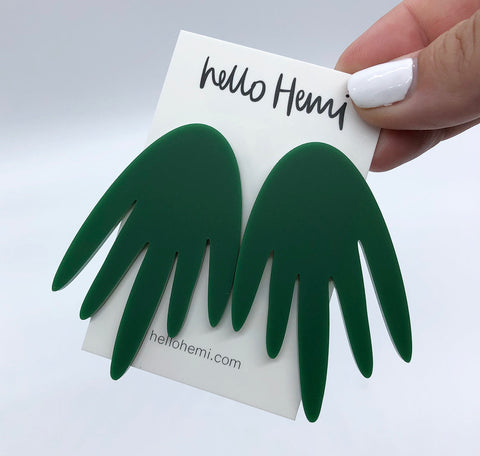 Rounded Tinky - Matte Forest Green