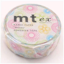 mt ex Spirograph Japanese Washi Tape Masking Tape - Boutique SWEET BIRDIE