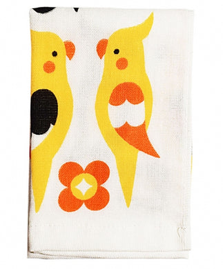 Cockatiel Towel Cloth Bird Cloth 34x34cm Small Size - Boutique SWEET BIRDIE