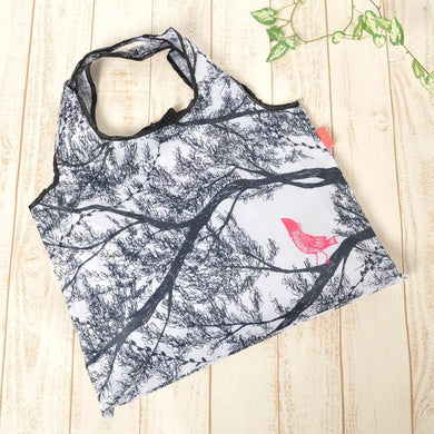 Eco Bag Shopping Birds in the Forest - Boutique SWEET BIRDIE
