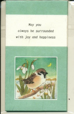 Sets of 3 Tree Sparrow Mini Envelopes Emi-658