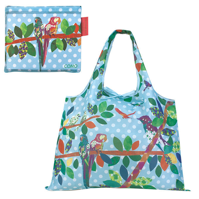 Macaw Eco Bag Shopping Bag - Boutique SWEET BIRDIE