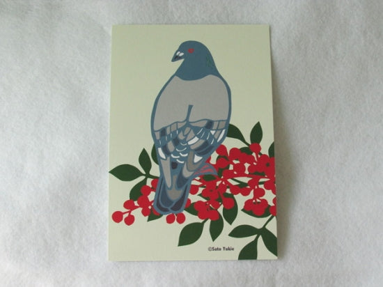 Dove Pigeon Postcard Yukie-51 - Boutique Sweet Birdie