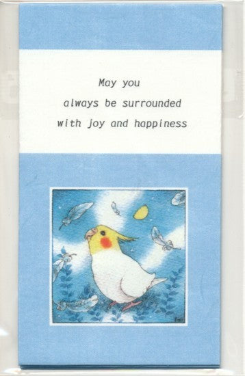 Sets of 3 Cockatiel Mini Envelopes Emi-882
