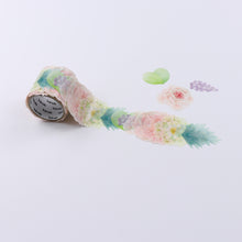 Ranunculus Stickers Japanese Washi Roll Stickers - Boutique SWEET BIRDIE