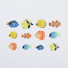 Tropical Fish Stickers Japanese Washi Roll Stickers - Boutique SWEET BIRDIE