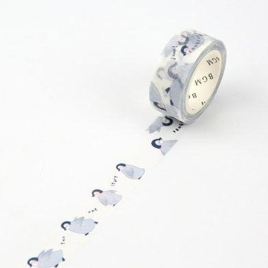 Penguin Washi Tape Masking Tape - Boutique SWEET BIRDIE