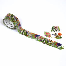Flower Wreath Japanese Washi Roll Stikcers - Boutique SWEET BIRDIE
