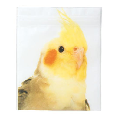 Sets of 5 Cockatiel Ziplock Bags