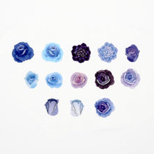 Blue Rose Stickers Japanese Washi Roll Stickers - Boutique SWEET BIRDIE