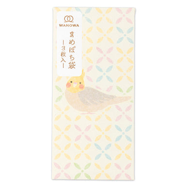 Sets of 3 Cockatiel Budgie Budgerigar Parakeet Super Mini Envelope 1358101