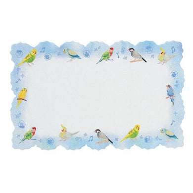 Sets of 12 Mini Message Card Budgie Budgerigar Parakeet Cockatiel Lovebird Pacific Parrotlet Java Sparrow - Boutique SWEET BIRDIE