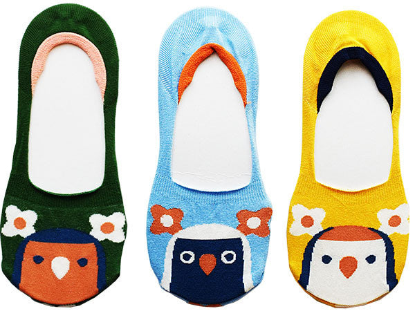 Lovebird Low Cut No Show Socks - Boutique Sweet Birdie
