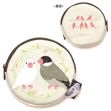 Java Sparrow Coin Purse - Boutique Sweet Birdie
