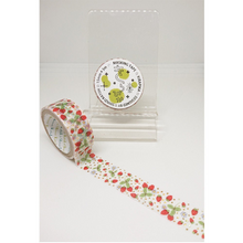 Strawberry Land Gold Glitter Japanese Washi Tape Shinzi Katoh Design ks-dt-10090 - Boutique SWEET BIRDIE