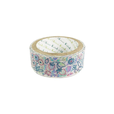 Bird Rabbit Flower Rainbow Glitter Japanese Washi Tape Shinzi Katoh
