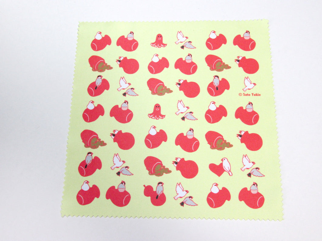 Java Sparrow Lens Cloth Microfiber Cloth - Boutique SWEET BIRDIE