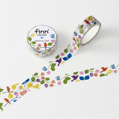 Bird & Flower Masking Tape Washi Tape