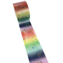 Bird Rainbow Glitter Japanese Washi Tape Shinzi Katoh fly to the rainbow