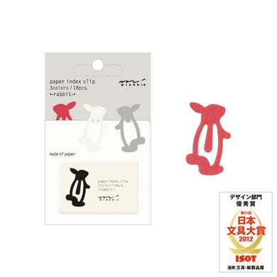 Sets of 18 Rabbit Paper Clips - Boutique SWEET BIRDIE