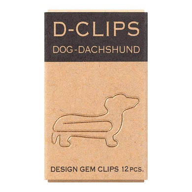 Sets of 12 Dachshund Dog Paper Clips - Boutique SWEET BIRDIE