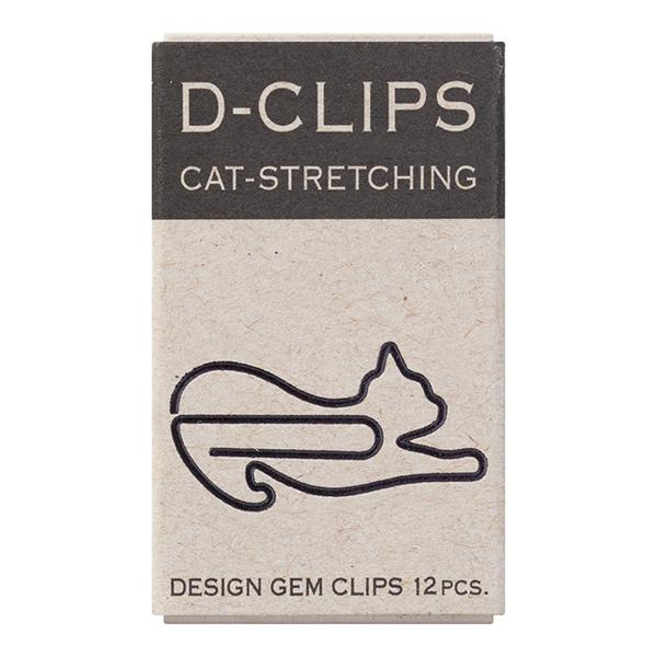 Sets of 12 Cat Paper Clips - Boutique SWEET BIRDIE