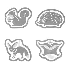 Sets of 16 Small Animal Paper Clips Squirrel Hedgehog Fennec Flying Squirrel - Boutique SWEET BIRDIE