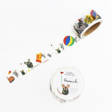 Mouse Japanese Washi Tape Masking Tape Leo Lionni Frederic - Boutique SWEET BIRDIE