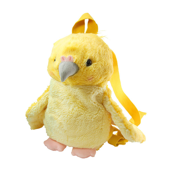 Cockatiel Fluffy Backpack for Children to Adults