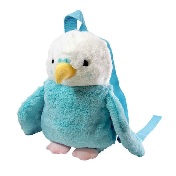 Budgie Budgerigar Parakeet Fluffy Backpack for Children to Adults