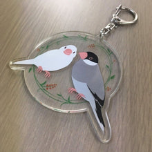 Java Sparrow Acrylic Key Holder