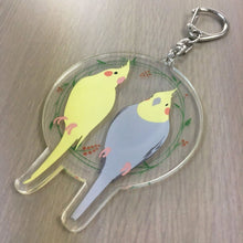 Cockatiel Acrylic Key Holder - Boutique Sweet Birdie