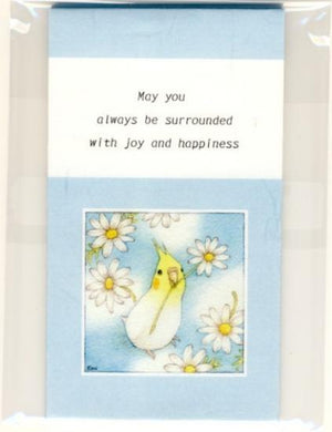 Sets of 3 Cockatiel Mini Envelopes - Boutique SWEET BIRDIE