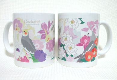 Cockatiel Mug - Boutique SWEET BIRDIE