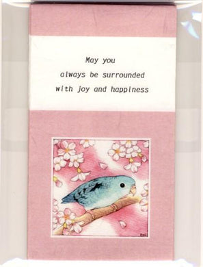 Sets of 3 Barred Parakeet Mini Envelopes - Boutique SWEET BIRDIE